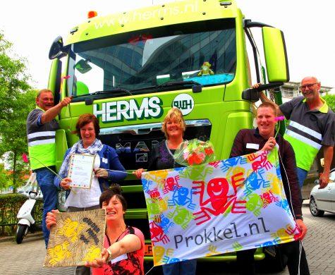 Vrijdag zijn in Utrecht de Gouden Prokkels uitgereikt. In de categorie Prokkelstage ging de Gouden Prokkel naar Koppel uit Epe.