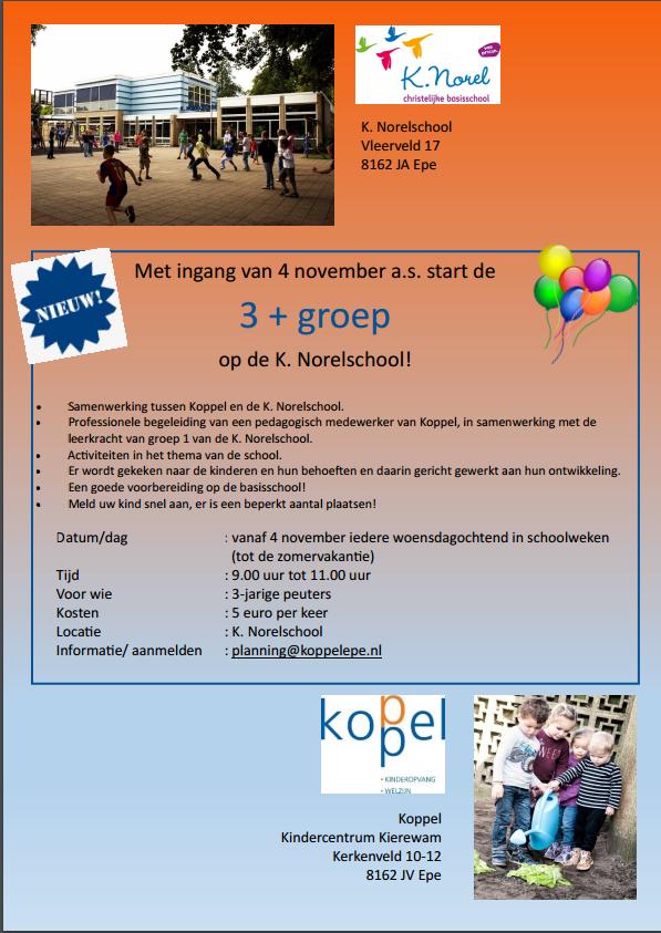 K Norelschool 3+ groep