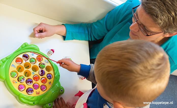Peuterspeelzaal en peuteropvang Bikkelsis onderdeel van kindercentrum Kanjers in Epe. In dit kindercentrum wordt ookkinderopvangenbsoaangeboden.