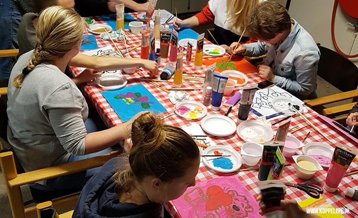 De Groet & Ontmoet-avonden georganiseerd door Koppel en zijn er nu ook voor junioren. Die vinden in Triton Vaassen plaats.